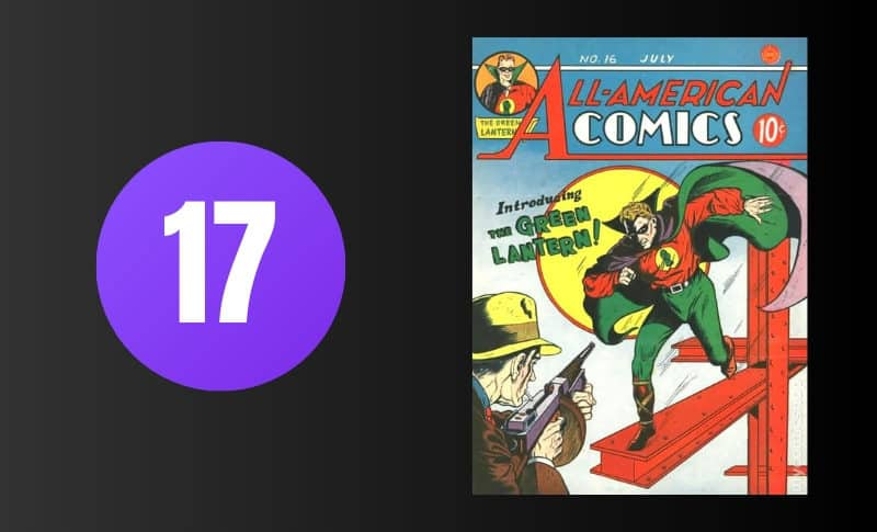 Most Expensive Comic Books - All American Comics - #16