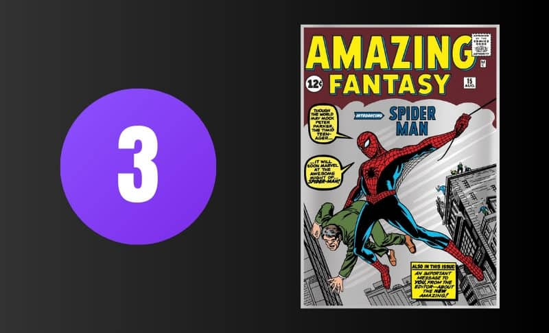 Most Expensive Comic Books - Amazing Fantasy #15