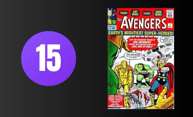 Most Expensive Comic Books - Avengers #1