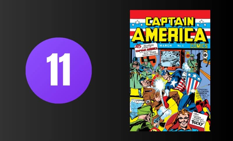 Most Expensive Comic Books - Captain America #1