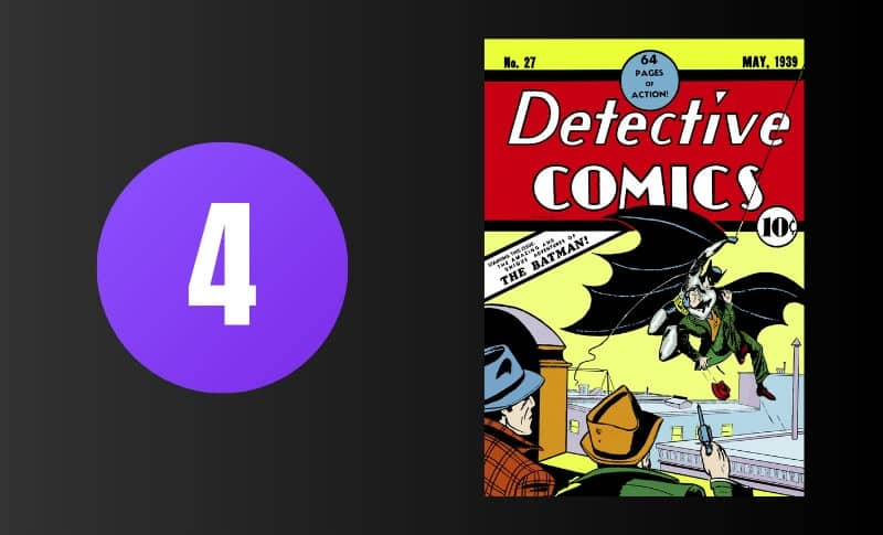 Most Expensive Comic Books - Detective Comics #27