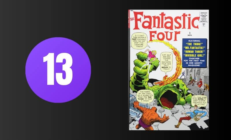 Most Expensive Comic Books - Fantastic Four #1