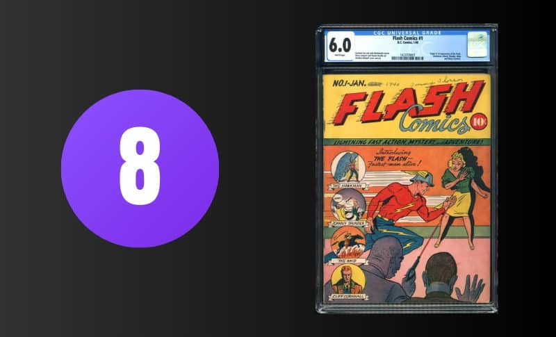 Most Expensive Comic Books - Flash Comics #1
