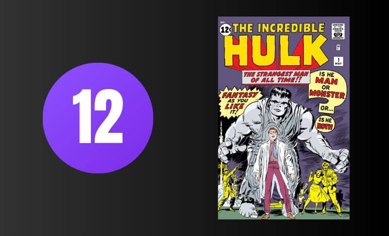 Most Expensive Comic Books - Incredible Hulk #1