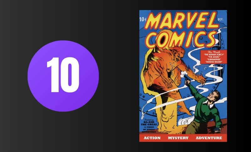 Most Expensive Comic Books - Marvel Comics #1