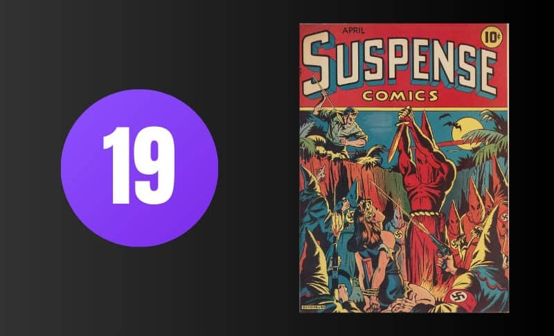 Most Expensive Comic Books - Suspense Comics #3