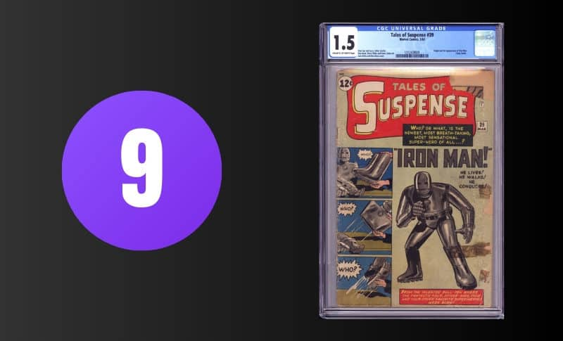 Most Expensive Comic Books - Tales of Suspense #39