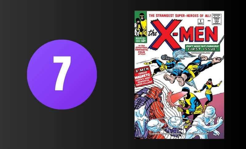 أغلى الكتب المصورة - X-Men # 1