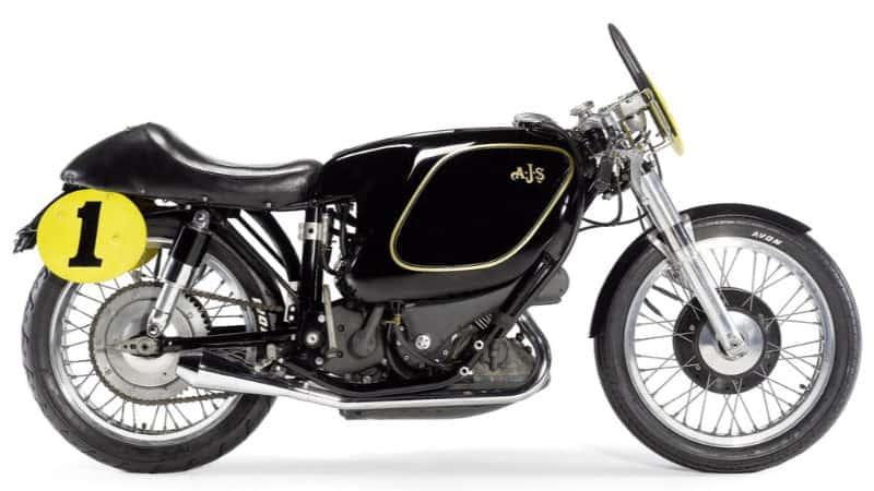 Most Expensive Motorbikes - 1949 E90 AJS Porcupine