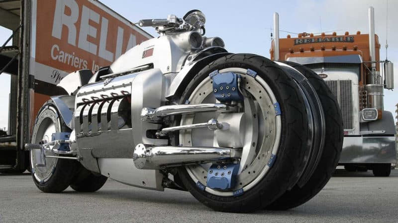 Most Expensive Motorbikes - Dodge Tomahawk V10 Superbike