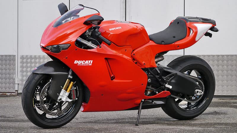 Most Expensive Motorbikes - Ducati Desmosedici D16RR NCR M16