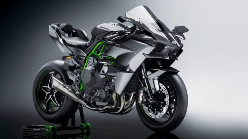 Most Expensive Motorbikes - Kawasaki Ninja H2R