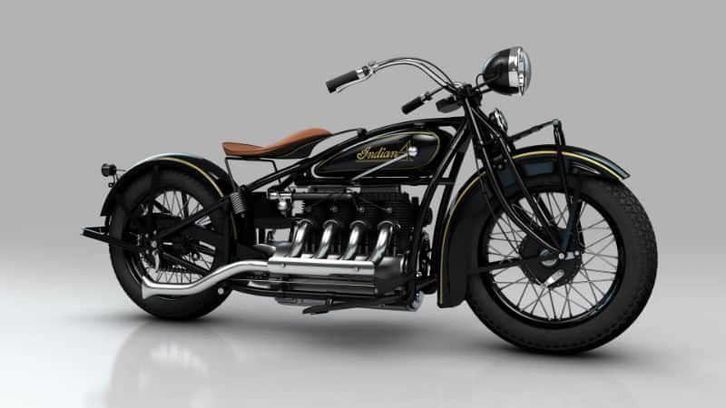 Most Expensive Motorbikes - Legendary British Vintage Black