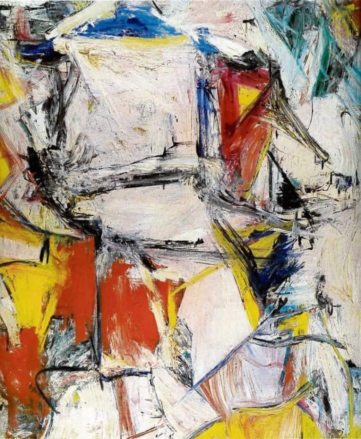 Most Expensive Paintings - Interchange - Willem de Kooning