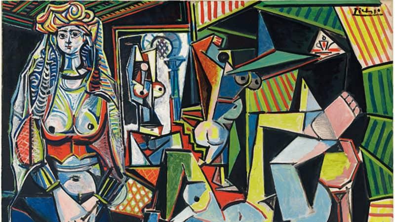 Most Expensive Paintings - Les Femmes d' Alger (Version O) - Pablo Picasso