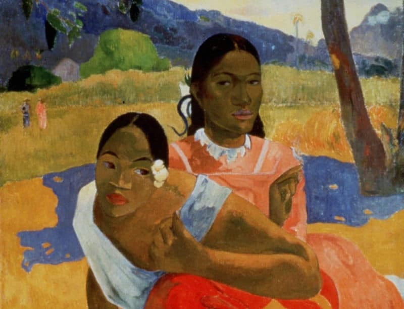 Most Expensive Paintings - Nafea Faa Ipoipo - Paul Gauguin