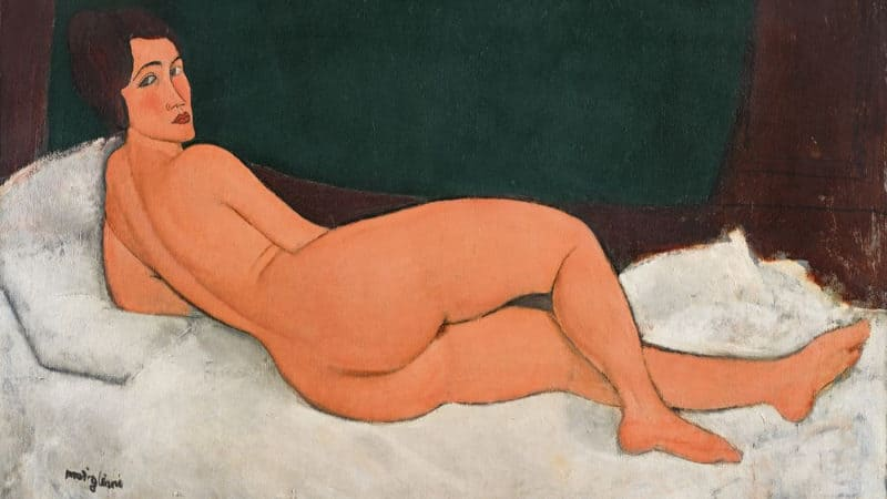 Most Expensive Paintings - Nu couché (sur le côté gauche) - Amedeo Modigliani
