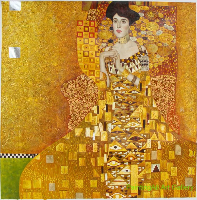 Most Expensive Paintings - Portrait of Adele Bloch-Bauer I - Gustav Klimt