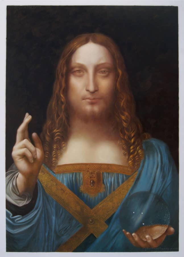 Most Expensive Paintings - Salvator Mundi - Leonardo da Vinci