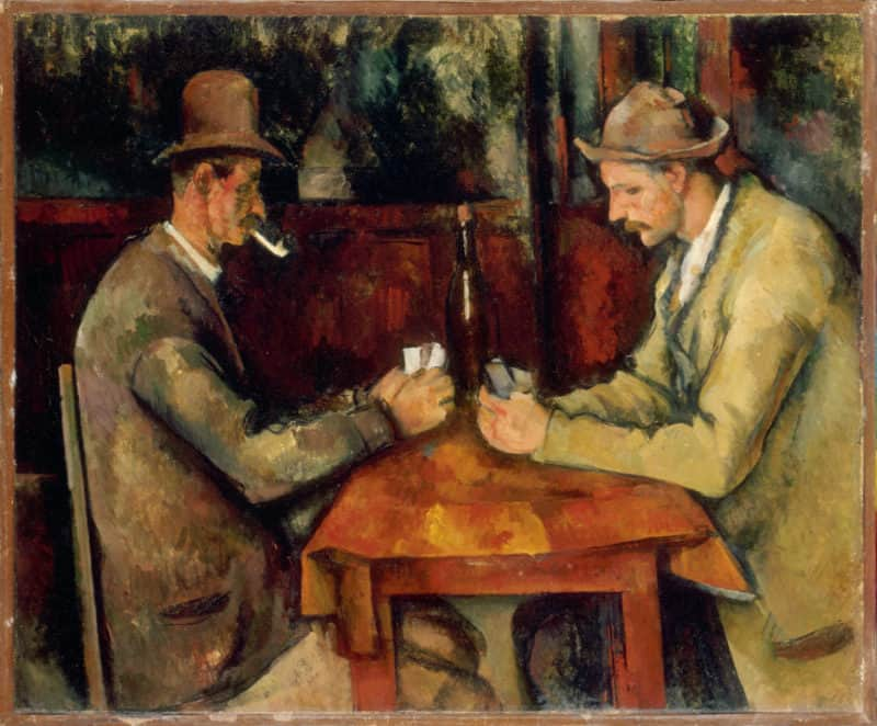 Most Expensive Paintings - The Card Players - Paul Cézanne