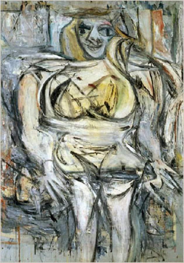 Most Expensive Paintings - Woman III - Willem de Kooning
