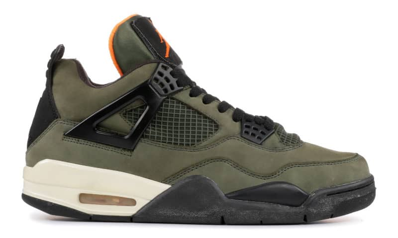 Most Expensive Sneakers - Air Jordan 4 Undefeated
