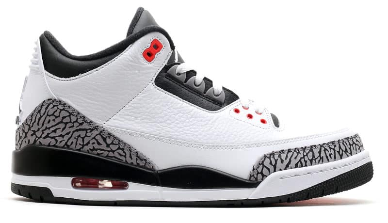 Most Expensive Sneakers - Air Jordan III OG