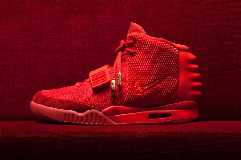 Most Expensive Sneakers - Nike Yeezy 2 Red October