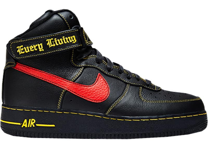 Most Expensive Sneakers - Vlone x Nike Air Force 1 High