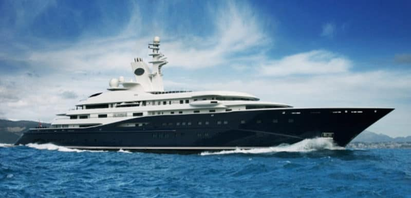Most Expensive Yachts - Al Mirqab