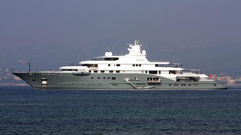 Most Expensive Yachts - Radiant