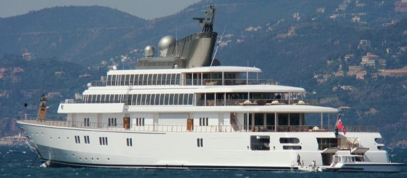 Most Expensive Yachts - The Rising Sun