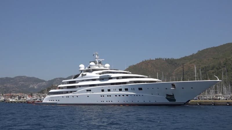 Most Expensive Yachts - Topaz