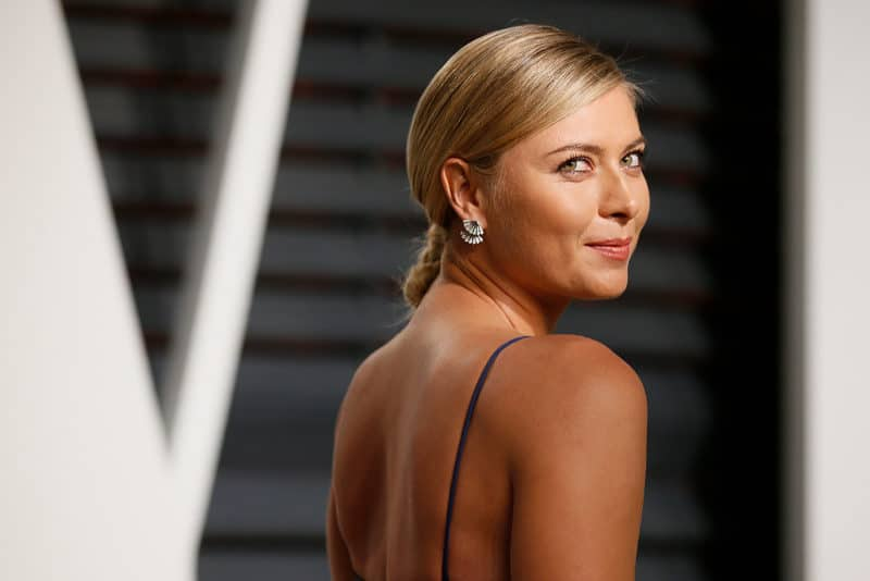 Richest Tennis Players - Maria Sharapova