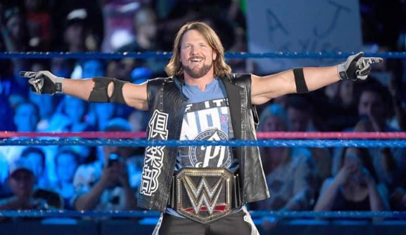 Richest Wrestlers - AJ Styles