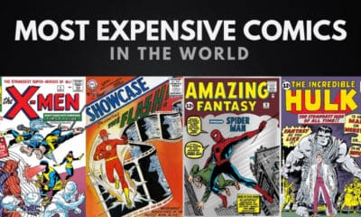 The 20 Most Expensive Comic Books in the World