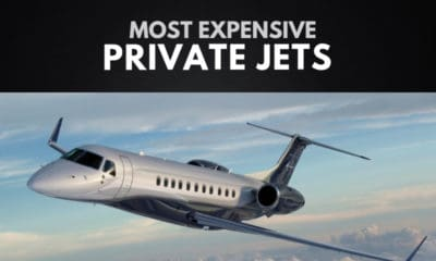 The Most Expensive Private Jets in the World
