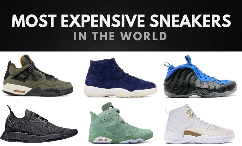 The 20 Most Expensive Sneakers Ever Made