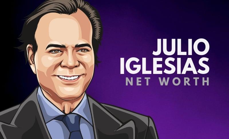 Julio Iglesias' Net Worth