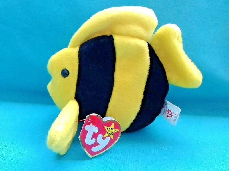 Most Expensive Beanie Babies - Bubbles