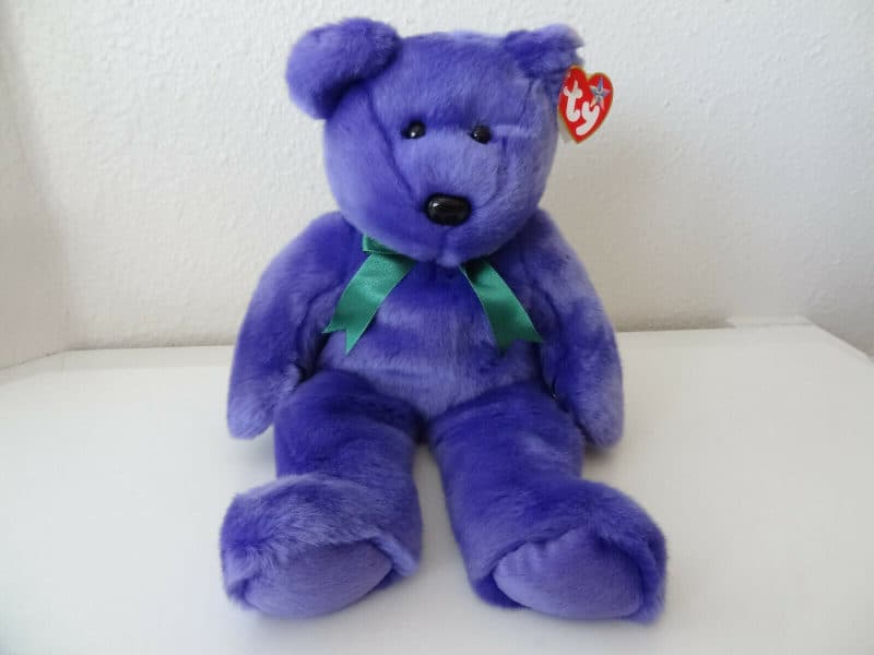Most Expensive Beanie Babies - Employee the Bear