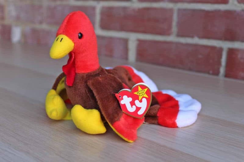Most Expensive Beanie Babies - Gobbles the Turkey