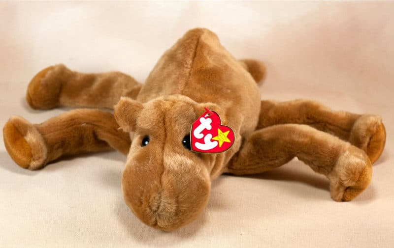 Most Expensive Beanie Babies - Humphrey The Camel