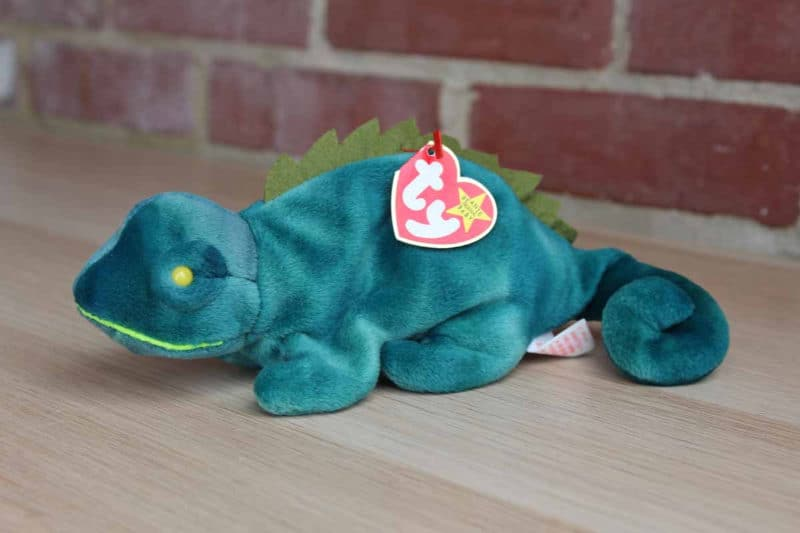 Most Expensive Beanie Babies - Iggy the Iguana