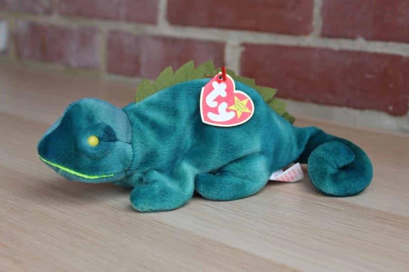 Most Expensive Beanie Babies - Iggy the Iguana