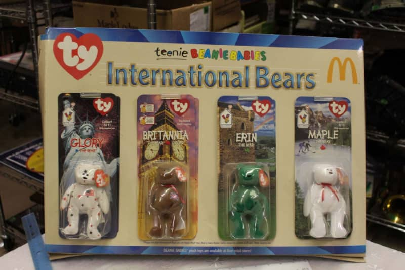 Most Expensive Beanie Babies - Mcdonald's International Bears