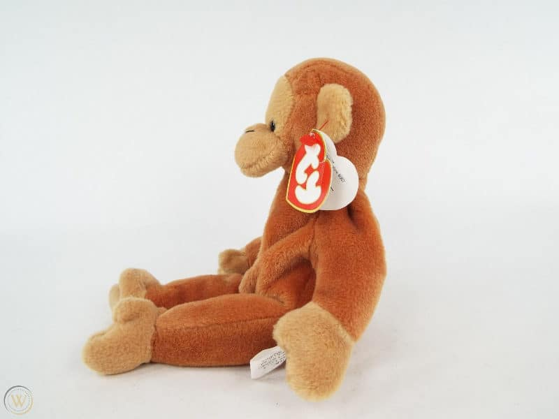 Most Expensive Beanie Babies - Nana The Monkey