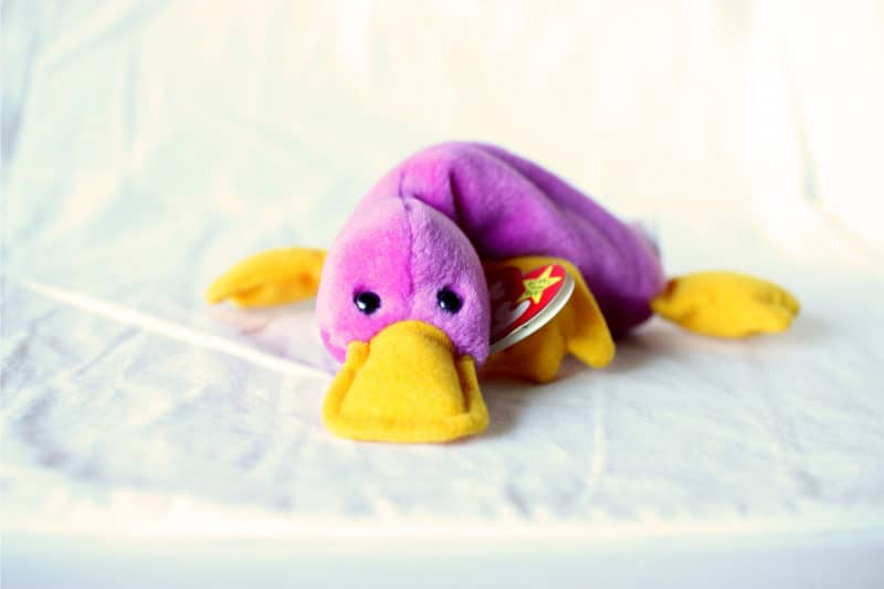 Most Expensive Beanie Babies - Patti the Platypus