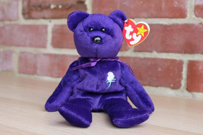 Most Expensive Beanie Babies - Princess the Bear