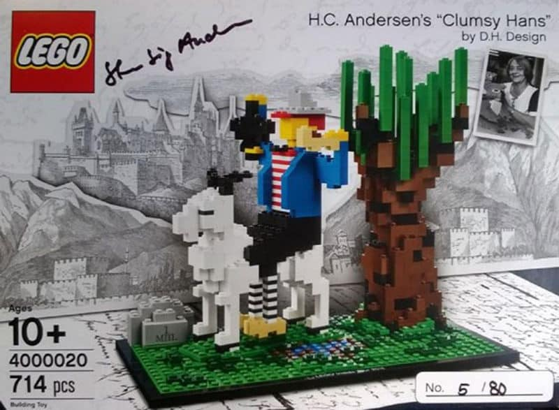 Most Expensive Lego Sets - H.C. Andersen's Clumsy Hans (2015 Edition)